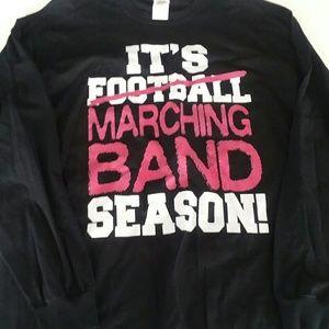 Marching Band T-shirt Long Sleeve